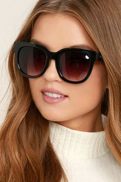 5eea56fdbb The Perverse Dawn Patrol Black Sunglasses will make you look fab on those  mornings when you