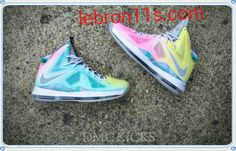New Lebron 10 (X) Easter Prism