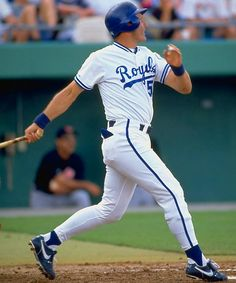 George Brett, Kansas City Royals, a childhood hero Kc Royals Baseball, Sports Baseball, Baseball Players, Baseball Stuff, Softball, Kansas City Missouri, Kansas City Royals, Mlb The Show, American Sports