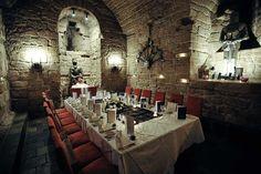Dungeon Restaurant - Dalhousie Castle - Edinburgh