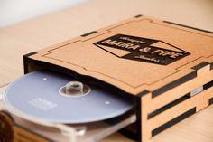 Wedding Kit (Album, DVD Case & Labels) by Double Exposition, via Behance