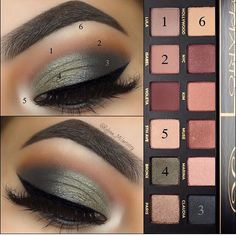 Fall Eyeshadow Makeup Tutorials #Beauty #Musely #Tip