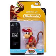 World of Nintendo Diddy Kong Action Figure - Radar Toys