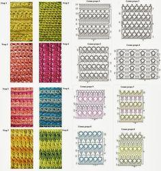ARTESANATO COM QUIANE - Paps,Moldes,E.V.A,Feltro,Costuras,Fofuchas 3D: 22 gráficos de crochet e idéias