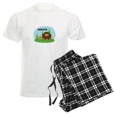 Cute Sasquatch Pajamas on CafePress.com
