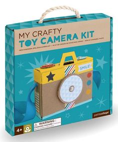Petit Collage My Crafty Toy Camera Kit | zulily