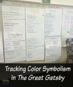 Tracking Color Symbolism in Great Gatsby
