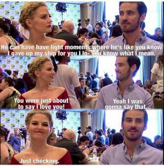 How much do I love JMo and Colin?  :D