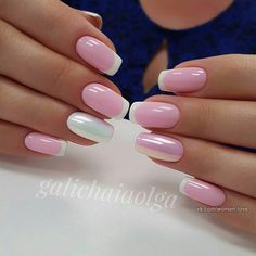 Pretty French Manicure Ideas - Trending NowFrench tip nails are classic styles that have stood the test of time. The core plan of the French manicure is painting the tip of the nail in an exceedingly color that either enhances or contrasts with t Manicure Nail Designs, French Manicure Nails, Manicure E Pedicure, French Tip Nails, Nail Art Designs, Nails Design, Manicures, Fabulous Nails, Gorgeous Nails