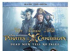 Pirates Of The Caribbean: Dead Men Tell No Tales (Blu-Ray  DVD  Digital HD) Br