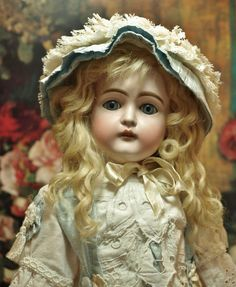 Beautiful Antique German Kestner Doll-Letter Series-Cabinet Size from patsyanndolls on Ruby Lane