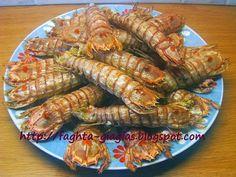 Κατσαρίδες τηγανιτές ή κοκκινιστές με ρύζι Greek Recipes, Carrots, Seafood, Meat, Vegetables, Sea Food, Veggies, Greek Food Recipes, Vegetable Recipes