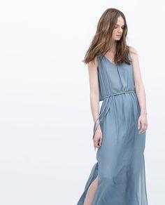 LONG LAYER DRESS-Maxi-Dresses-WOMAN | ZARA United States