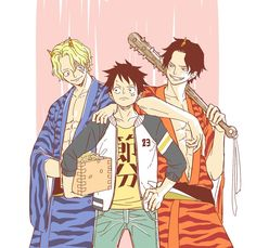 Anime One Piece, One Piece Ace, One Piece Fanart, One Piece Quotes, Anime Siblings, Ace Sabo Luffy, One Piece Drawing, The Pirate King, One Piece Pictures