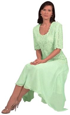 Mother of the Groom Dresses for Over 50 | Mother of the Groom Tea Length Dress
