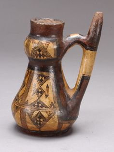 The Algerian Museum Online: Berber ceremonial wedding pitcher, ancient Kabyle Pottery, Algeria Travel, Sculpture Art, Sculptures, French Colonial, Glass Ceramic, Ancient Romans, North Africa, First Nations, African Art