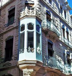 Edifici modernista d'Alcoi. Conservatori musica y danza
