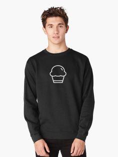 cupcake sweatshirt by carostudios #cupcake #minimal #sweatshirt #design