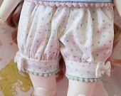 Pick Your Size - Fairy Kei Bloomers Multi Color Rainbow Pastel Cute Lolita BJD Doll MSD YoSD Kaye Wiggs SD Super Dollfie Minifee