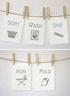 24 Ideas for laundry room organization hanging clothes free printable Laundry Shop, Laundry Art, Laundry Design, Laundry Room Signs, Laundry Room Organization, Laundry Quotes, Laundry Decor, Laundry Rooms, Laundry Business