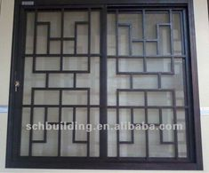New Window Grill Design