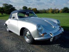 Lovely 1962 #Porsche 365B T6 Super 90 Cabriolet has been hammered away for £100,000 #carwashlive