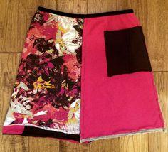 Upcycled skirt, Upcycled clothing, Women's Upcycled clothing, Recycled clothing, Size Small, Shabby Chic, Boho clothing