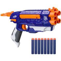 Free 2-day shipping on qualified orders over $35. Buy Nerf N-Strike Elite Split Strike Blaster at Walmart.com