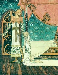 "Kay Nielsen. For me he's up there wuth Du Lac and Rackham ""Golden age"" Childrens illustration from East of the Sun, West of the Moon"