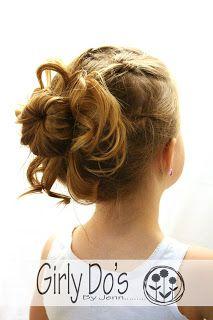 little girl hair hair tutorials!-Love her hair :) Dance Hairstyles, Flower Girl Hairstyles, Little Girl Hairstyles, Pretty Hairstyles, Wedding Hairstyles, Girly Hairstyles, Kids Hairstyle, Childrens Hairstyles, Style Hairstyle