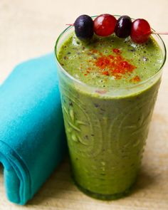 Blueberry Green Kiwi Zinger Smoothie Recipe