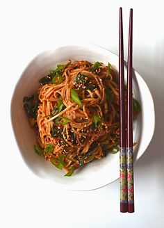 Sew French: Korean Style Soba Noodles