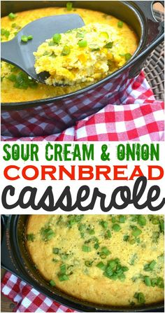 Sour Cream and Onion Corn Casserole - Make The Best of Everything