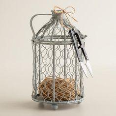 Birdcage String Holder