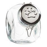 """Found it at Joss & Main - Pet Treat Jar; $19. Overall: 8.25"""" H x 7.5"""" W x 5"""" D."""