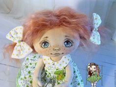 Купить Алька. Текстильная кукла. Авторская кукла. Интерьерная кукла - текстильная кукла, авторская кукла