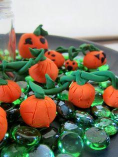 Clay Pumpkins from Joyfully Weary