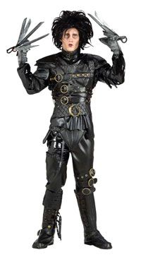Grand Heritage Edward Scissorhands - Edward Scissorhands - Scary Halloween Costumes