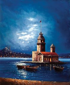 yagli-boya-kız-kulesi-tablolari4.jpg (329×400)