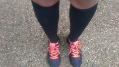 wearing the LightStep Compression Sleeves.