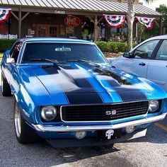 Muscle car - fine photo