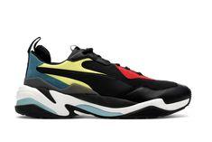 Puma Thunder Spectra Black Dad Sneakers, Jordans Sneakers, Air Max Sneakers, Air Jordans, Running Silhouette, Wide Feet, Best Basketball Shoes, Thunder, Kicks