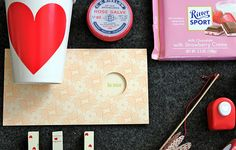valentines day in a box - how fun!