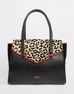Pauls Boutique   Paul's Boutique Ashley Leopard Shoulder Bag at ASOS