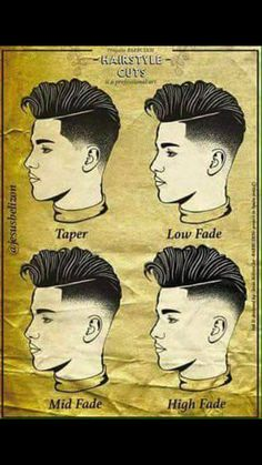 New Hair Cuts Tendence Makeup 58 Ideas Barber Haircuts, Haircuts For Men, Men's Haircuts Fade, Butch Haircuts, Modern Haircuts, Hair And Beard Styles, Long Hair Styles, Tapered Haircut, Low Fade Mens Haircut