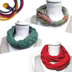 Yarn and Textile Jewelry