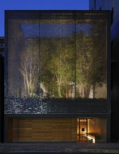 Peek Into This Japanese Garden Surrounded By 6,000 Glass Bricks - Architizer