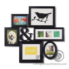Green Earth Stores | 00213893426 - Photo Displayer - Montage - Black