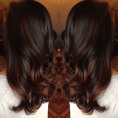 Image result for chocolate brown hair
