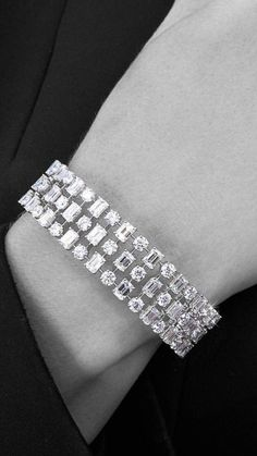 Best Diamond Bracelets : (notitle)You can find Diamond bracelets and more on our website. Mens Diamond Bracelet, Diamond Bracelets, Sterling Silver Bracelets, Diamond Jewelry, Jewelry Bracelets, Ankle Bracelets, Bangles, Stackable Bracelets, Jewellery